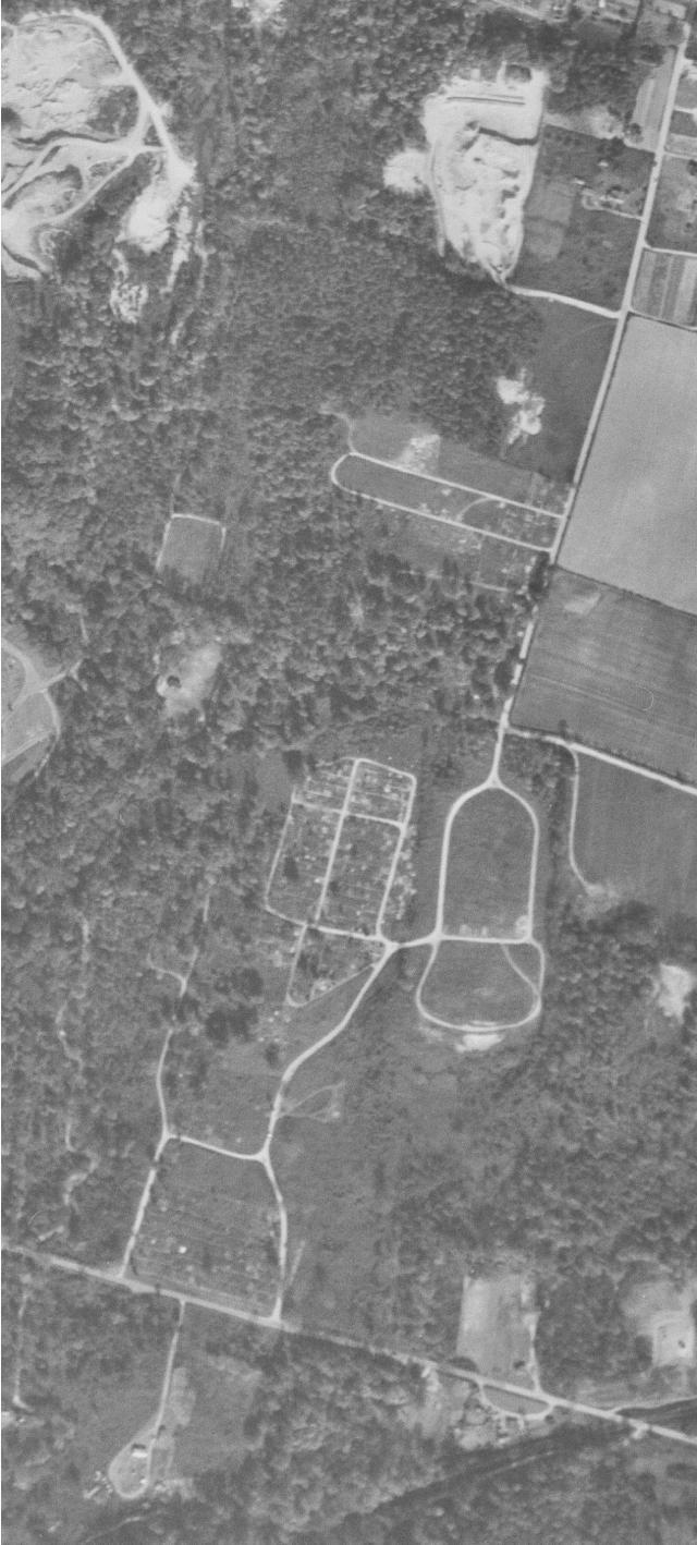 Evergreen, 1952 Aerial Photo